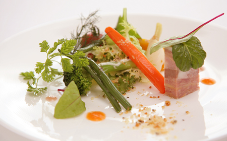 レストランの料理の写真