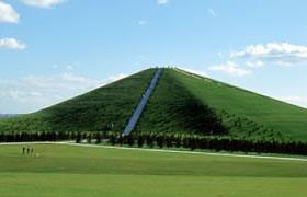 モエレ山の写真