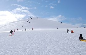 モエレ山ソリコース(冬)