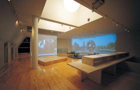 館内3F:イサム・ノグチギャラリー