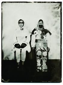 進藤冬華《記録―人物像》2016