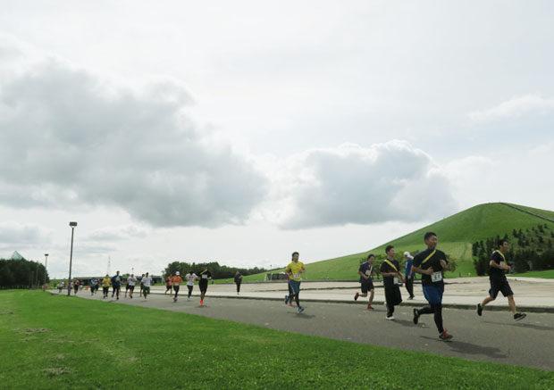 第10回リレーマラソン大会inモエレ沼公園