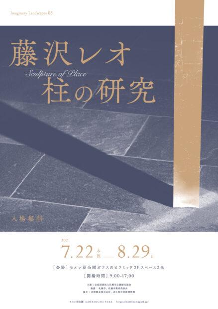 藤沢レオ 柱の研究フライヤー表